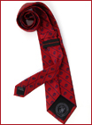 Red Globe & Anchor Tie